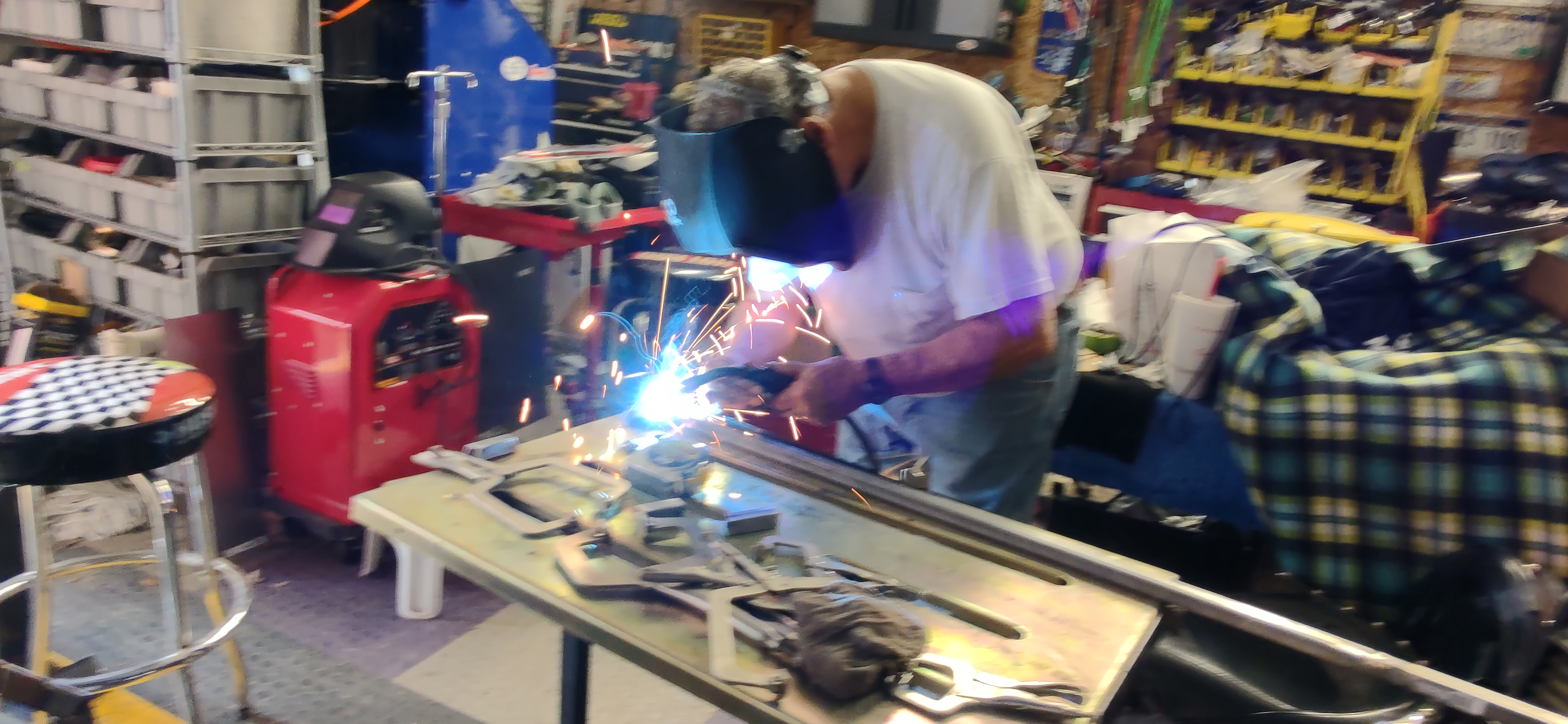 Welding 3/4 inch square tubing